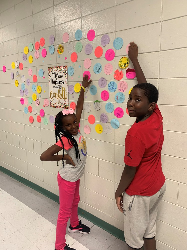 Ruskin Elementary is Throwing Kindness Around like Confetti