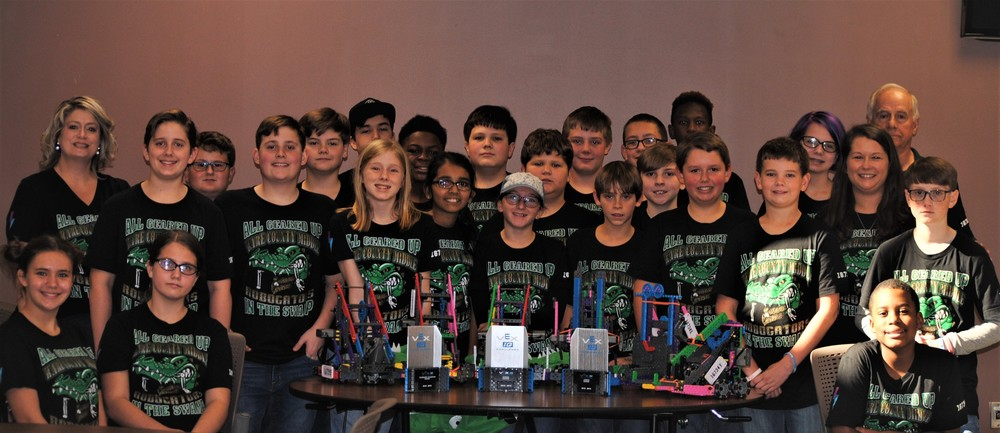 WCMS ROBOGATORS Team Kicks Off Competition Season with a Winning Streaks