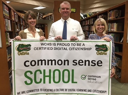 WCHS Recognized as a Common Sense Certified School for Digital Citizenship