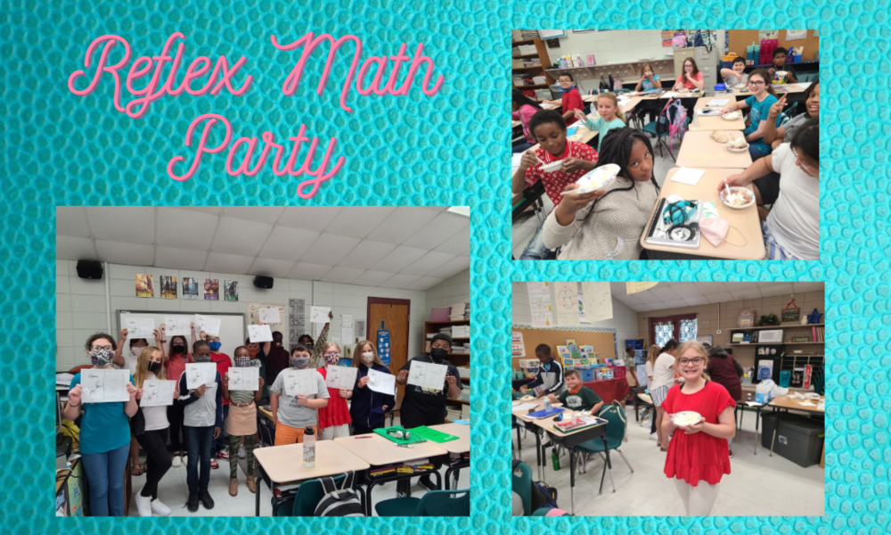 Fifth Grade  Students Celebrate Math Fluency