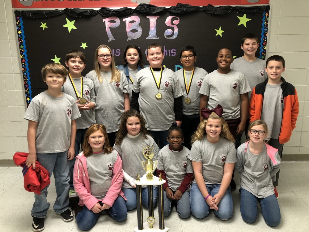 Memorial Drive Elementary Students Win 1st Place at Quiz Bowl Tournament