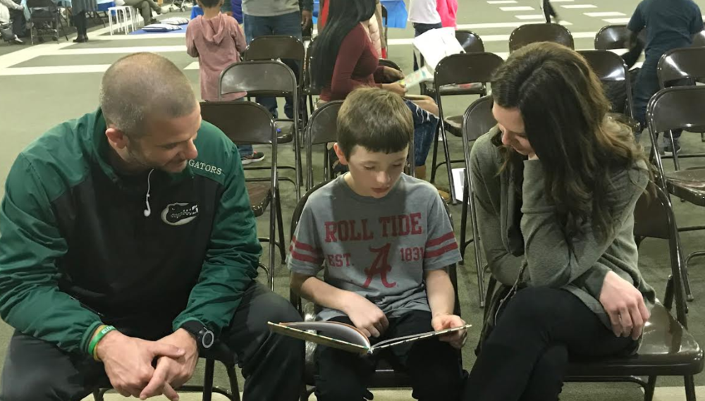 Reading Highlighted during Family Literacy Night at Williams Heights Elementary School