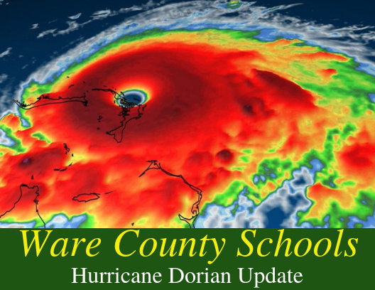 Ware County Schools will be Closed September 3rd and 4th