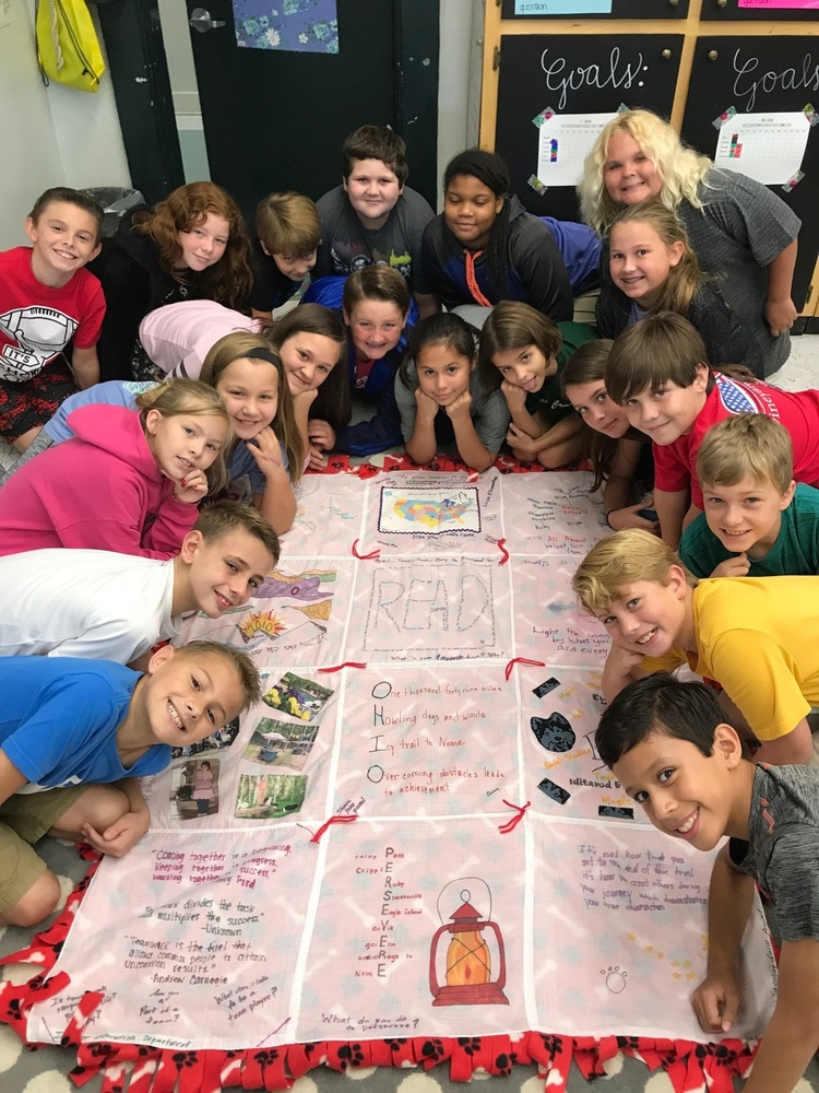 Wacona Elementary WINGS Students Participate in Iditarod Quilt Project