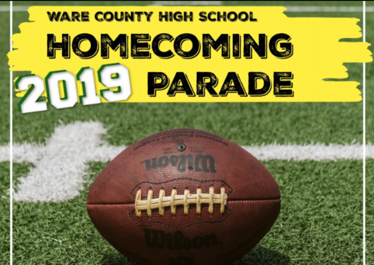 2019 Homecoming Parade Entry Form and Information