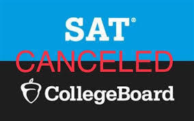 SAT Make-up Day Scheduled March 28th is Canceled