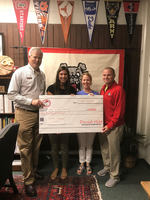 WXMS Donates $1000 to the Amris Bedford Medical Fund