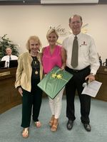 Waresboro's Counselor Misty Burchett Recognized