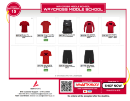 Support WXMS Athletic Boosters