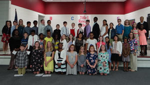 Memorial Drive Elementary School Inducts 27 NEHS Students