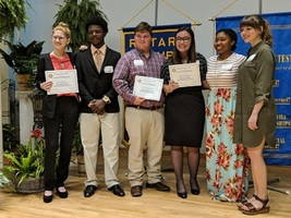 Rotarian Speech Contest Participants