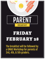 Parent Breakfast and GMAS Workshop
