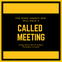Called Meeting March 15th