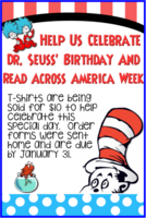 Dr. Suess T-Shirt Order