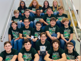 WCMS Robogators Dominate the Competition