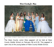 Ware County Jr. Miss 2020.