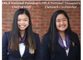 WCHS Students on FBLA National Executive Council