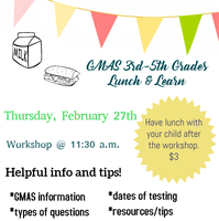 GMAS 3rd-5th Grades Lunch and Learn