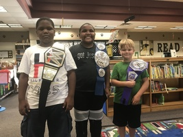 Ruskin Elementary's Reading Belt Challenge Encourages Students to Read