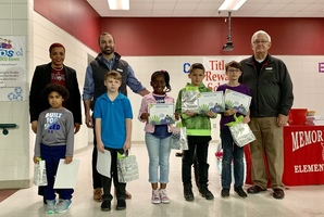 Memorial Drive Elementary Recognizes BUG Award Winners