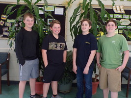 WCMS Students Sweep 1st Place at State Robotics Competition