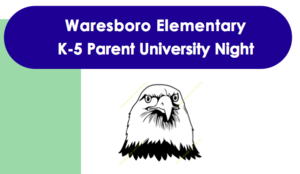 K-5 Parent University Night