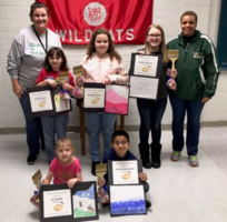 Memorial Drive Elementary Recognizes Artists of the Month for September