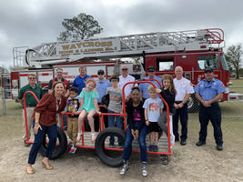 Beloved Playground Fire Truck Gets a Facelift