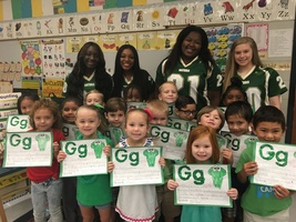 Kindergarten is Gator Great at Ruskin Elementary