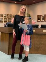 Waresboro Elementary Students Present Veteran's Day Tribute
