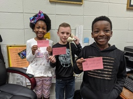 Second Graders Share MLK Facts on Morning Announcements