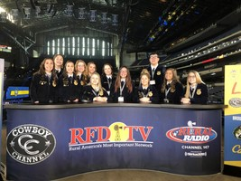 Ware County FFA Attends National FFA Convention