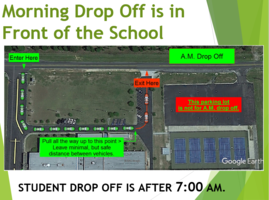 Morning drop off information