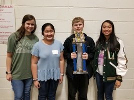Math Competition Winners