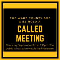 WCS Board of Education to Hold Called Meeting
