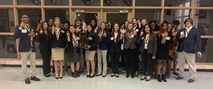 Ware County FBLA Members Win Region Sweepstakes Competition