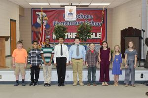 Waresboro Elementary Holds NEHS Induction