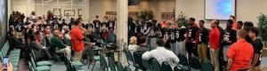 Waycross Middle School Football Team Recognized as Conference Champs