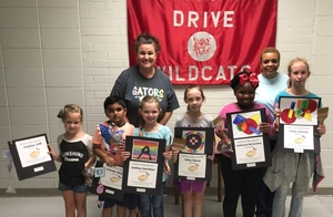 Memorial Drive Elementary Introduces Artists of the Month Club
