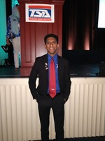 Manav P. Competes at 2019 National Technology Student Association Conference