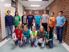 WCMS Students Win at Ware County Technology Competition, Advance to Regionals