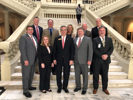 Area Superintendents Convene at State Capitol