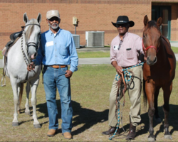Ruskin Elementary Welcomes Black Cowboys to Campus