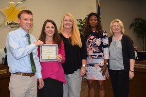 WCS Finance Department Recognized for Excellence