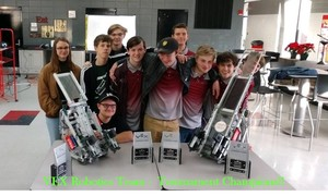 VEX Robotics Team Qualifies for State Finals