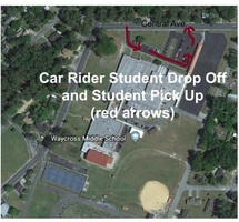 Car Rider Student Drop Off and Student Pick Up