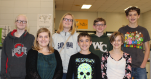 WCMS Recognizes All-State Chorus Participants