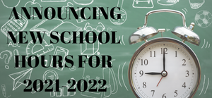 WCS Announces School Hours for 2021-2022
