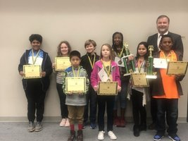 Ware County Schools Crowns District Spelling Bee Winner
