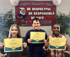 Waresboro Elementary Holds Annual School Spelling Bee